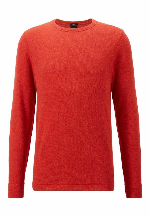 TEMPFLASH - Långärmad tröja - dark orange
