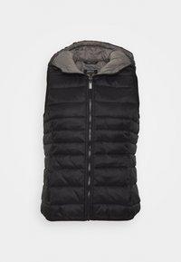 ONLNEWTAHOE CONTRAST WAISTCOAT - Waistcoat - black
