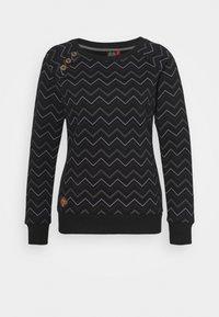 Ragwear - DARIA - Sweatshirt - black - 4
