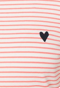 TOM TAILOR - STRIPE BOAT NECK - Long sleeved top - white peach - 2