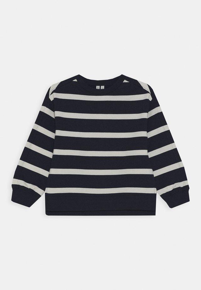 SWEATSHIRT - Sweatshirt - navy/white