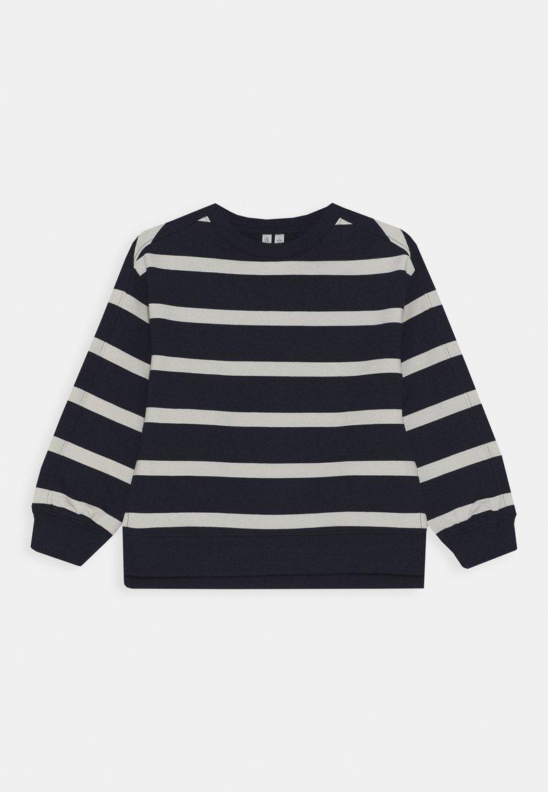 ARKET - SWEATSHIRT - Sweatshirts - navy/white