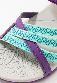 Hi-Tec - SAVANNA II - Chodecké sandály - purple - 2