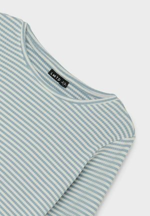 Long sleeved top - dusty blue
