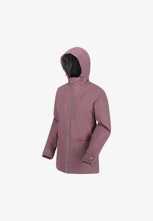 BERGONIA II  - Waterproof jacket - duskyheather