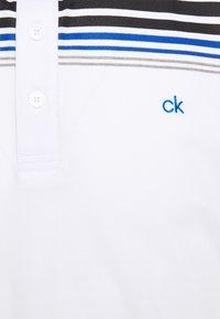 Calvin Klein Golf - NELSON - Polo shirt - white/black - 2