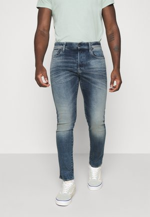 3301 SLIM - Jeansy Slim Fit - heavy elto pure superstretch faded clear sky
