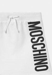 MOSCHINO - Minisukně - optic white - 2