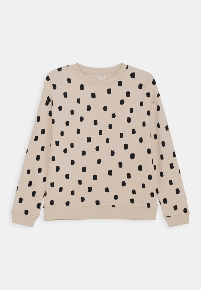 Sweatshirt - beige dusty light