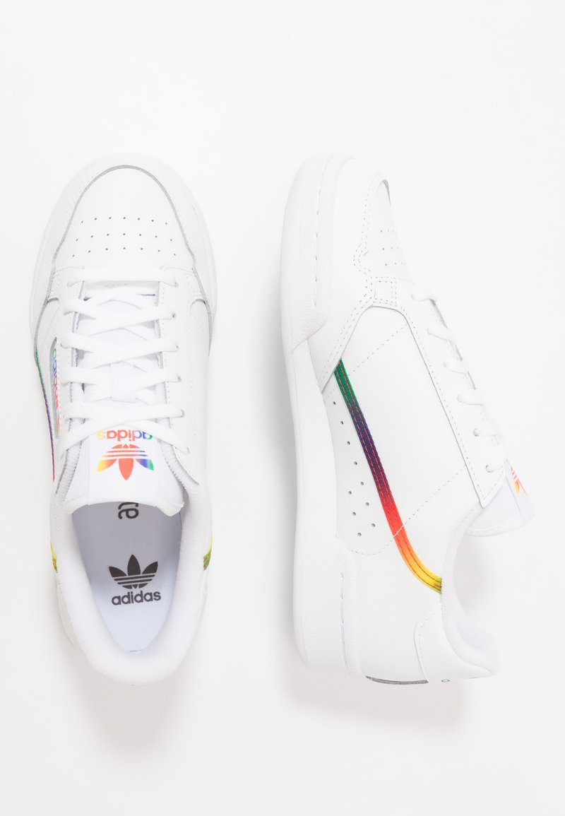 adidas Originals - CONTINENTAL 80 - Sneakersy niskie - footwear white/core black