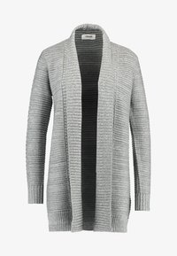 Zalando Essentials - Cardigan - mid grey melange - 3