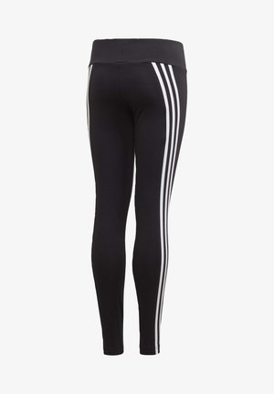 3-STRIPES COTTON LEGGINGS - Leggings - black
