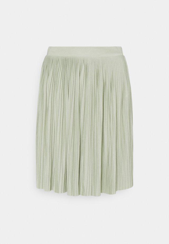 VIPLISS SKIRT - Pleated skirt - desert sage