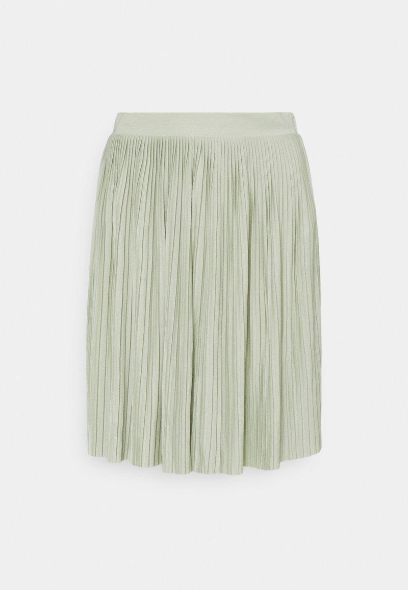Vila - VIPLISS SKIRT - Pleated skirt - desert sage