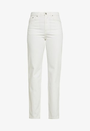 VOYAGE LOVED - Straight leg jeans - white