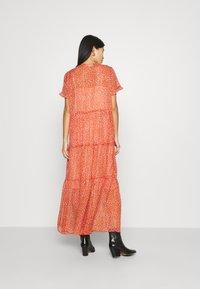 Saint Tropez - XELINASZ DRESS - Maxi dress - red orange puff sky - 2