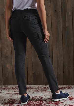 Cargo trousers - vulcan black