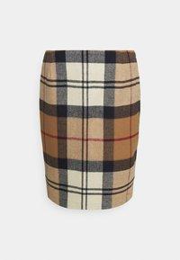Barbour - NEBIT PENCIL SKIRT - Pouzdrová sukně - hessian tartan - 0