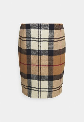 NEBIT PENCIL SKIRT - Pouzdrová sukně - hessian tartan