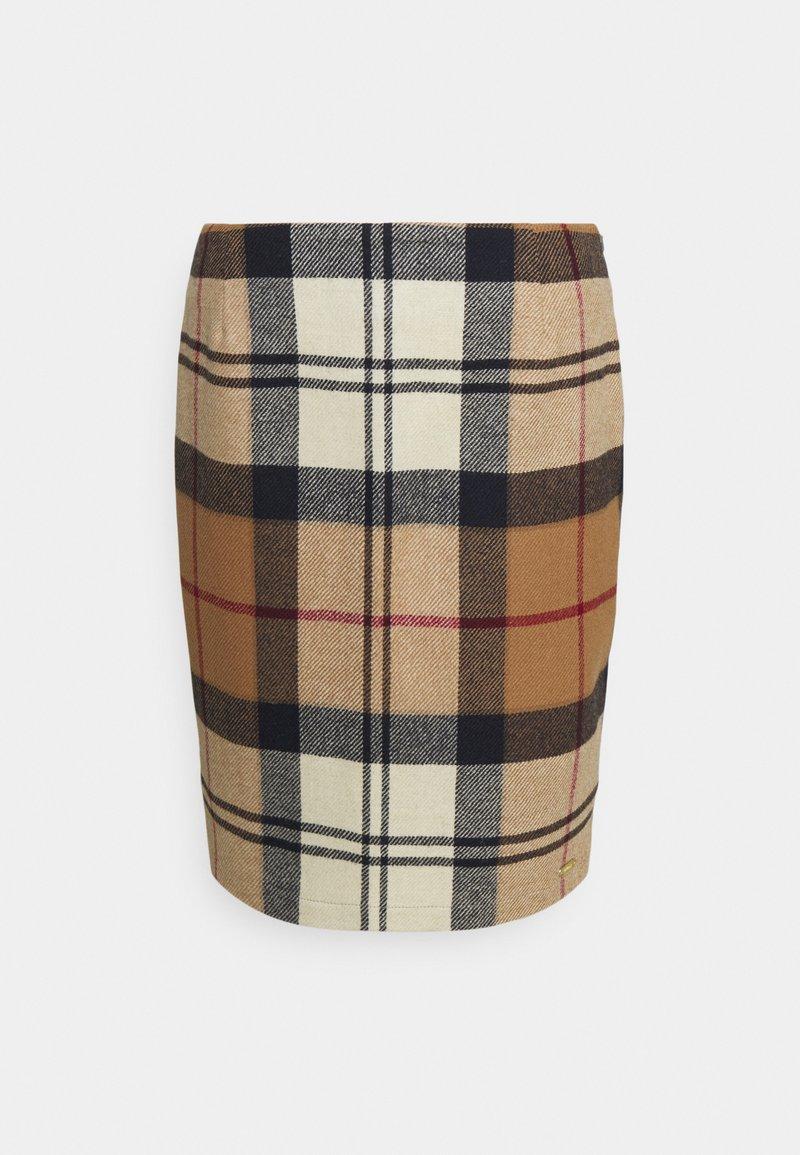 Barbour - NEBIT PENCIL SKIRT - Pouzdrová sukně - hessian tartan
