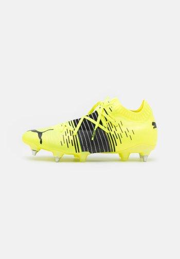 FUTURE Z 1.1 MXSG - Voetbalschoenen met metalen noppen - yellow alert/black/white