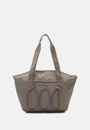 ONE TOTE - Sportovní taška - cave stone/dark chocolate
