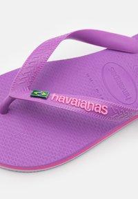 Havaianas - BRASIL LAYERS - Pool shoes - purple - 5