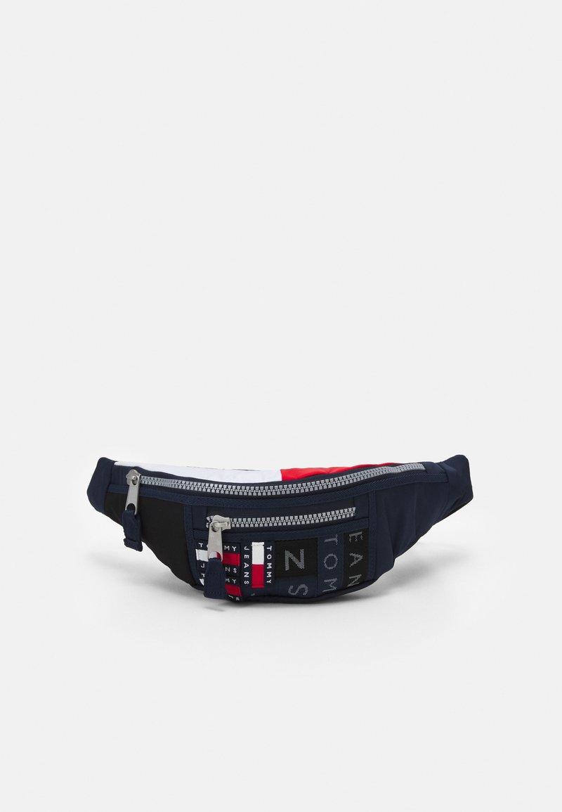 Tommy Jeans - HERITAGE BUMBAG CORPORATE UNISEX - Bum bag - blue