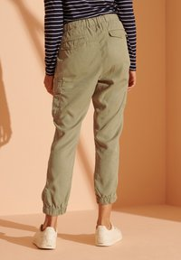 Superdry - Cargo trousers - dark olive - 1