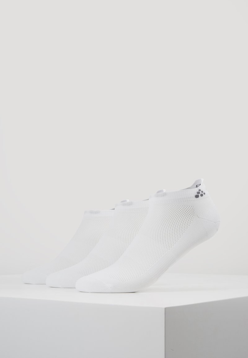 Craft - GREATNESS SHAFTLESS 3 PACK - Sportsocken - white