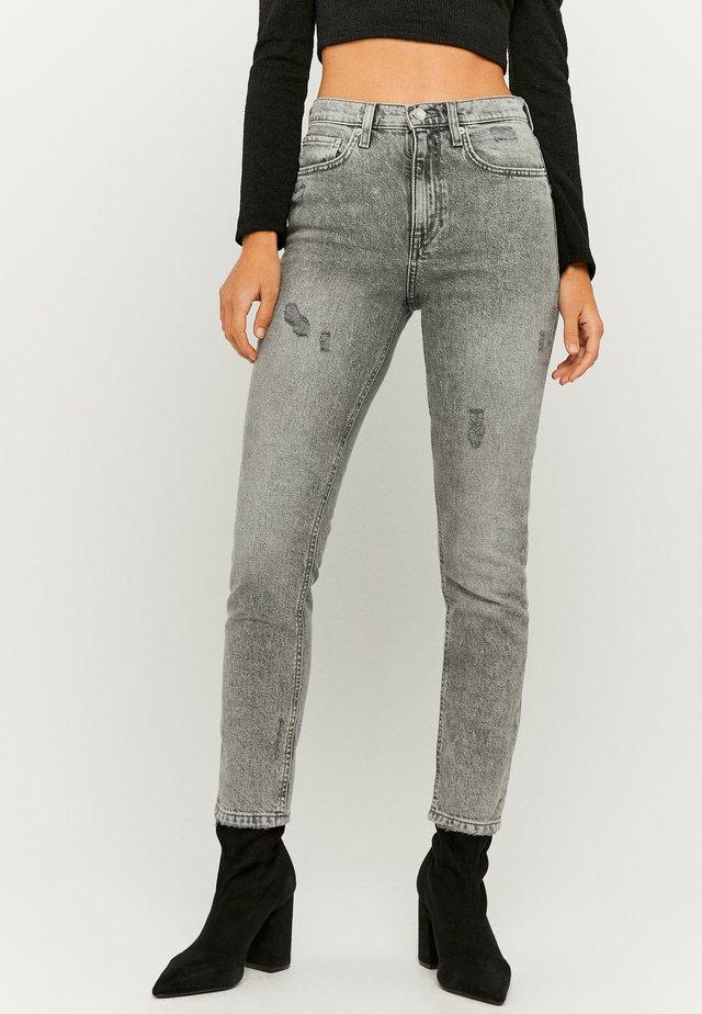Straight leg jeans - gry