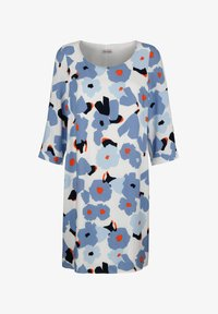 Alba Moda - Day dress - hellblau,koralle - 5