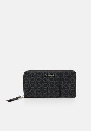 WALLET PIPING - Wallet - black