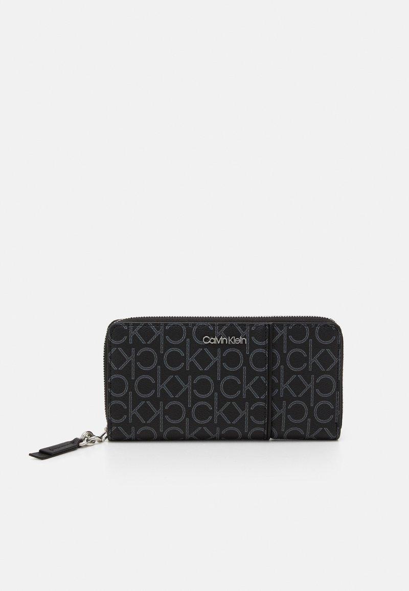 Calvin Klein - WALLET PIPING - Lommebok - black