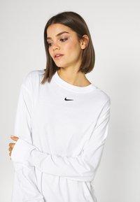 Nike Sportswear - DRESS - Vestido ligero - white - 4