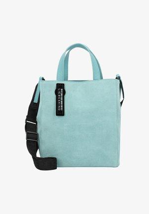Handbag - liquid blue