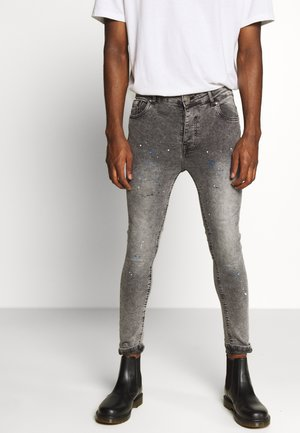 STORMYPAINT - Jeans Skinny Fit - grey acid wash