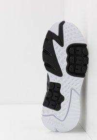 adidas Originals - NITE JOGGER - Matalavartiset tennarit - core black/carbon - 4