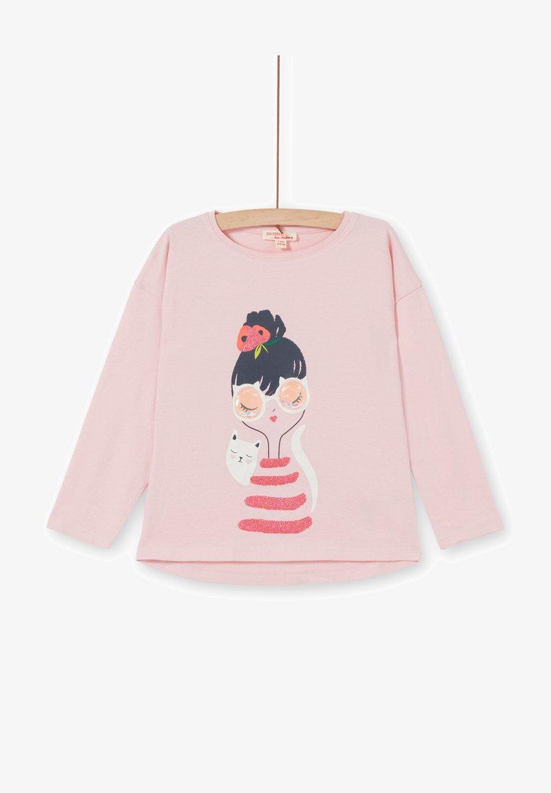 Du Pareil au Même - Long sleeved top - pink