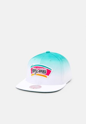 NBA SAN ANTONIO SPURS COLOUR FADE SNAPBACK - Cap - white/teal
