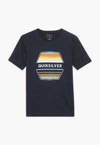 Quiksilver - DRIFT AWAY - T-shirt print - navy blazer - 0