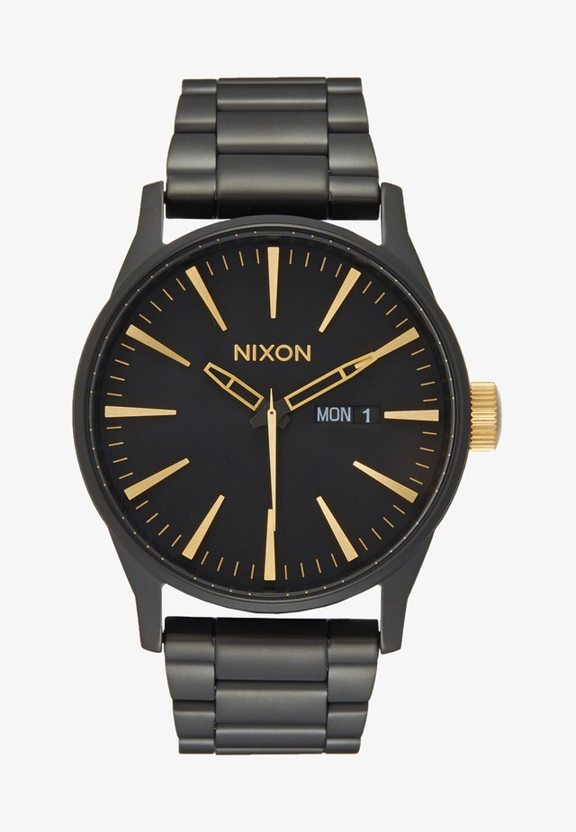 SENTRY - Watch - matte black/gold-coloured