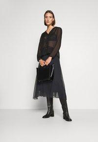 Saint Tropez - CORAL SKIRT - A-line skirt - black - 1
