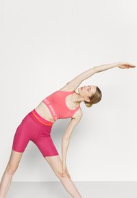 adidas Performance - TECHFIT HIGH-RISE TIGHTS - Tights - berry - 3