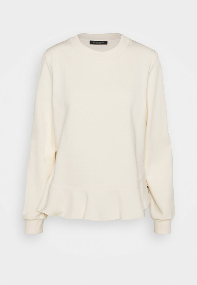RUBINE RIEA OPTION - Sweatshirt - white cream