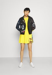 Desigual - CHAQ_COVENT GARDEN MICKEY - Faux leather jacket - black - 1