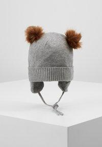 Name it - NBMMOE HAT - Muts - grey melange - 0