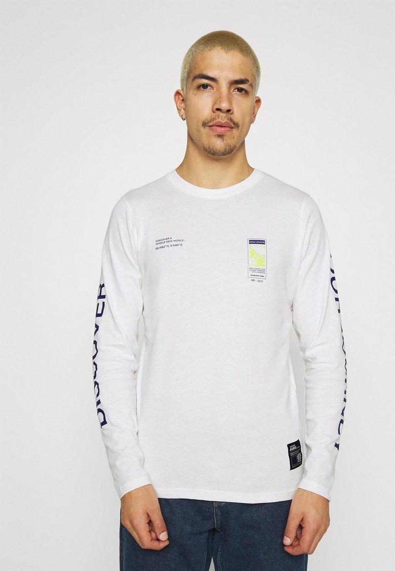 Redefined Rebel - RRMUSA TEE - Långärmad tröja - offwhite