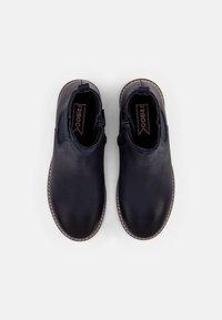 Friboo - LEATHER - Kotníkové boty - dark blue - 3