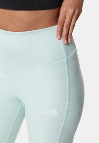 The North Face - W DUNE SKY 7/8 TIGHT - Leggings - Trousers - misty jade heather - 2